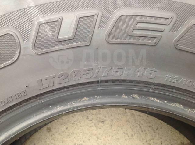 Bridgestone Dueler A/T. Летние, 2017 год, без износа, 4 шт