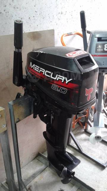 Mercury. 8,00л.с., 2-тактный, бензиновый, нога S (381 мм), 2004 год год