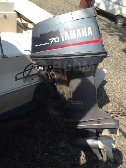 Yamaha FR-17. 1995 год год, двигатель подвесной, 70,00л.с., бензин
