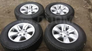 """Новый комплект колес для Toyota Land Cruiser Prado. 7.5x17"""" 6x139.70 ET25 ЦО 106,1мм."""