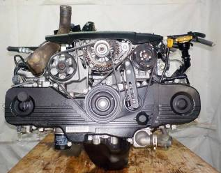Двигатель в сборе. Subaru Forester, SG, SG5, SG6, SG69, SG9, SG9L, SH, SH5 Subaru Legacy, BL, BL5, BP, BP5 Subaru Impreza, GE6, GE7, GH, GH6, GH7 Двиг...