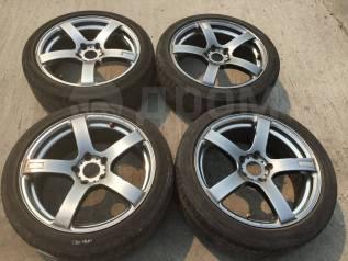 """225/45 R18 Bridgestone литые диски 5х114.3 (L20-1801). 7.5x18"""" 5x114.30"""