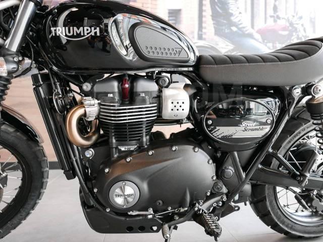 Triumph Street Scrambler. 900куб. см., исправен, птс, без пробега
