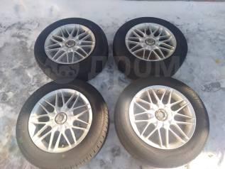 """Диски Bridgestone Erglanz R 16 + шины Лето 215/60/16. 7.0x16"""" 5x114.30 ET48 ЦО 66,1мм."""