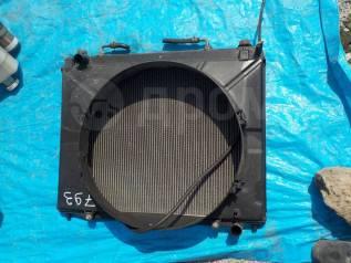 Радиатор охлаждения двигателя. Mitsubishi Pajero, V63W, V65W, V73W, V75W, V83W, V85W, V87W, V93W, V95W, V97W Mitsubishi Montero, V63W, V65W, V73W, V75...