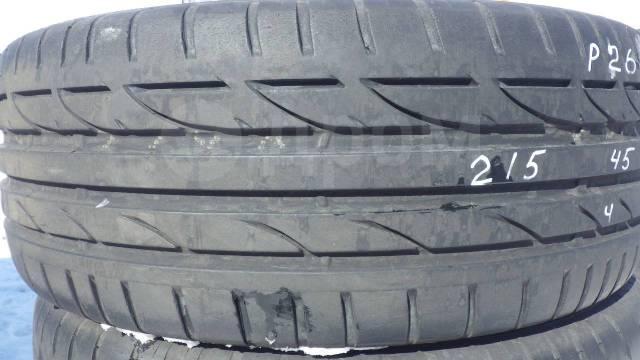 Bridgestone Potenza S001. Летние, 2014 год, 5%, 4 шт