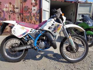 Kawasaki KDX 125. 125куб. см., исправен, птс, без пробега