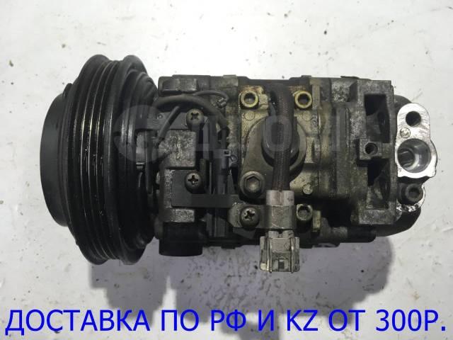 Компрессор кондиционера. Subaru Legacy, BD2, BD3, BD4, BD5, BD9, BE5, BE9, BG2, BG3, BG4, BG5, BG7, BG9, BGA, BGB, BGC, BH5, BH9, BHC Двигатели: EJ18E...