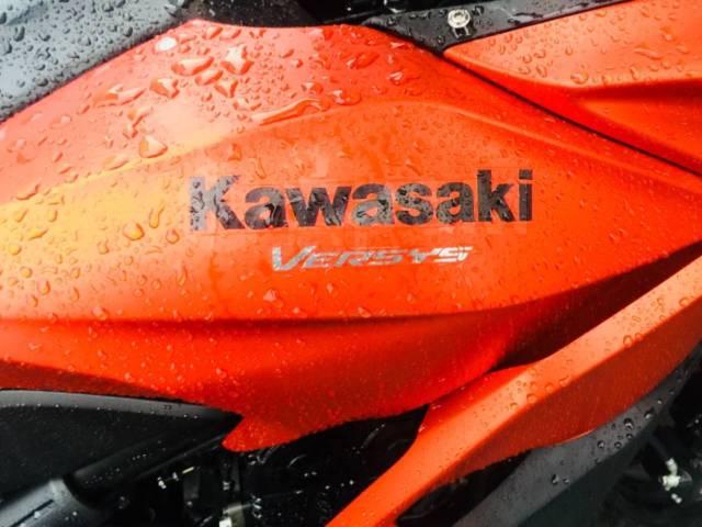 Kawasaki Versys. 650куб. см., птс, без пробега