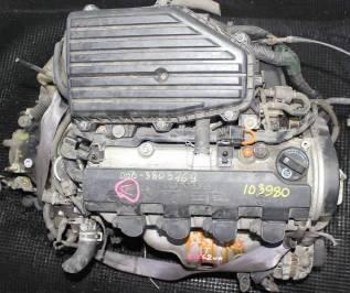 Двигатель в сборе. Honda: Civic Shuttle, Concerto, Civic, CR-X, Integra SJ, Capa, Domani, Civic Ferio, Partner Двигатели: D15B, D15B2, D15B3, D15B4, D...