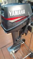 Yamaha. 6,00л.с., 2-тактный, бензиновый, нога S (381 мм)