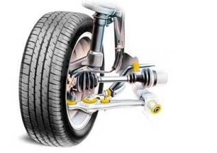 Ремонт ходовой части, рулевых реек, регулировка развал-схождения