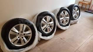 "Продам колеса R15 на зимней резине. 6.0x15"" 5x114.30 ET45 ЦО 64,1мм."