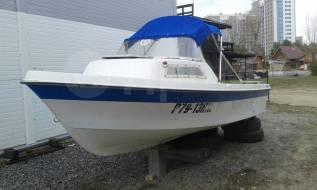 Yamaha Fish 17. 1995 год год, длина 5,10м., двигатель подвесной, 1,00л.с., бензин