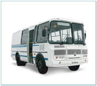 ПАЗ 3206. -110-20 (4х4) полугрузовой, 3 000куб. см., 12 мест. Под заказ