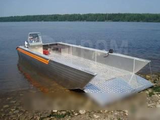 Грузовой катер-лодка с аппарелью. 2018 год год, двигатель подвесной, бензин. Под заказ