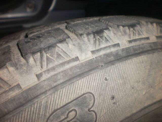 Bridgestone Blizzak MZ-03. Зимние, без шипов, 2002 год, 20%, 1 шт