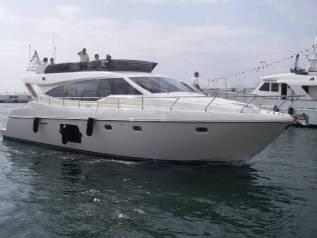 Аренда Ferretti 550 VIP яхты БЕЗ Посредников. 12 человек, 40км/ч