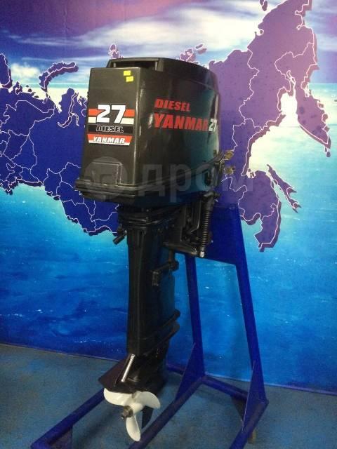 Yanmar. 27,00л.с., 4-тактный, дизельный, нога X (635 мм), 2001 год год