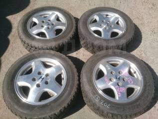 """205/60R15 зима Dunlop 70% + литье 5х114,3 6JJ ET55. 6.0x15"""" 5x114.30 ET55 ЦО 63,0мм."""