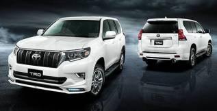 Обвес кузова аэродинамический. Toyota Land Cruiser Prado, GDJ150L, GDJ150W, GDJ151W, GRJ150L, TRJ150L, TRJ150W Двигатели: 1GDFTV, 1GRFE, 2TRFE