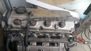Двигатель в сборе. Mitsubishi Chariot Двигатель 4G64