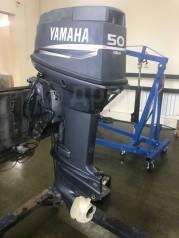 Yamaha. 50,00л.с., 2-тактный, бензиновый, нога L (508 мм), 2002 год год