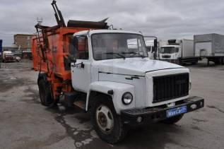 Коммаш КО-440-2. Мусоровоз КО 440-2 на шасси Газ 3309 2008 г. в., 4 750куб. см.