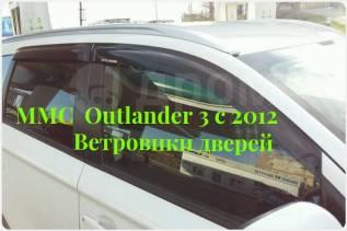 Ветровик на дверь. Mitsubishi Outlander, GF2W, GF3W, GF4W, GF6V, GF6W, GF7W, GF8W, GG2W, GG3W. Под заказ