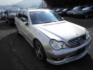 Сплиттер. Mercedes-Benz C-Class, W203
