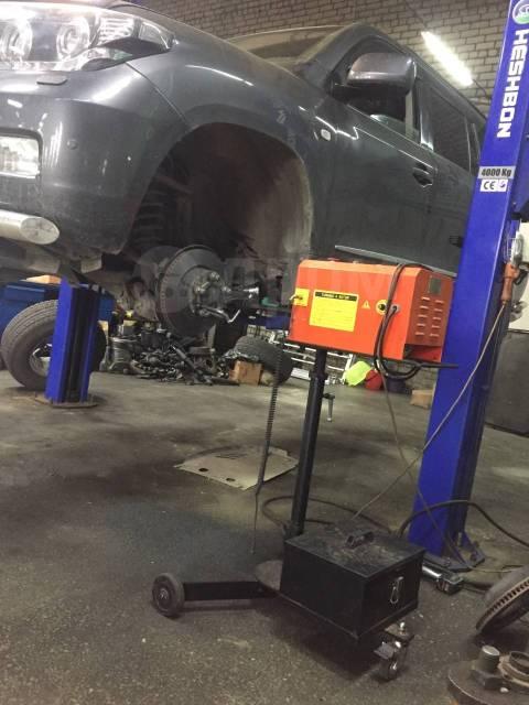 Проточка тормозных дисков легковых автомобилей