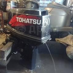 Tohatsu. 30,00л.с., 2-тактный, бензиновый, нога S (381 мм), 2006 год год