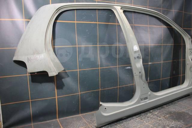 Daewoo Matiz (1998-2015гг) - Боковая правая часть кузова. Daewoo Matiz, KLYA Двигатели: B10S1, F8CV