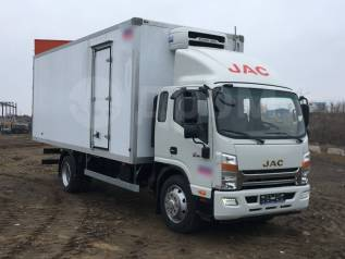JAC N120. JAC 7 ТОНН N120 - рефрижератор от официального дилера, 3 760куб. см., 7 690кг.