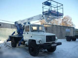 ГАЗ 3309. Автогидроподъемник ВИПО-18-01 на шасси ГАЗ-3309 (4х2), 18м.