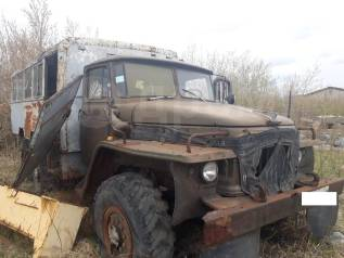 Урал 375. Автобус НЗАС 4947 - УРАЛ 375