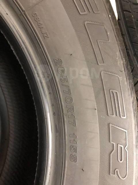 Bridgestone Dueler H/T 684II. Летние, 2016 год, без износа, 4 шт