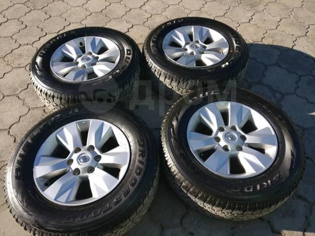 "Продам почти новый комплект колёс R17 Toyota Hilux, Prado 2018. 7.5x17"" 6x139.70 ET30 ЦО 106,1мм. Под заказ"