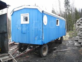 ОЗТМ. Вагон на шасси жилой в габарите, 1 000куб. см.