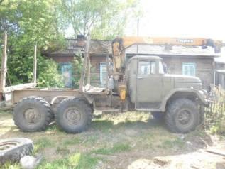 ЗИЛ 131. Продаётся ЗИЛ-131 с крановой установкой, 1 200куб. см., 6 500кг.