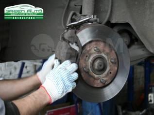 Ремонт тормозной системы-колодок, суппорта, ABS, проточка дисков, шланги