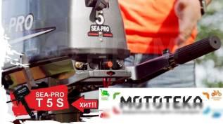 Sea-Pro. 5,00л.с., 2-тактный, бензиновый, нога S (381 мм), 2017 год год