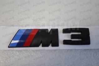 Эмблема. BMW M3, E90, E93 BMW 3-Series, F30, E90, E92, E91, E93, F31 Двигатели: N13B16, N54B30, N55B30, B38B15, N47D20, M57D30TU2, B47D20, N52B25, N53...