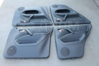 Комплект дверных обшивок черная кожа Mercedes-Benz w163 ML. Mercedes-Benz M-Class, W163