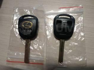Ключ зажигания, смарт-ключ. Lexus: RX330, RX350, GX470, LX470, RX300, RX400h Двигатели: 1MZFE, 2GRFE, 3MZFE, 2UZFE