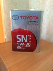 Toyota. Вязкость 5W-30, синтетическое