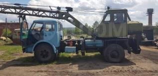 МАЗ 500. Автокран на базе Маз 500