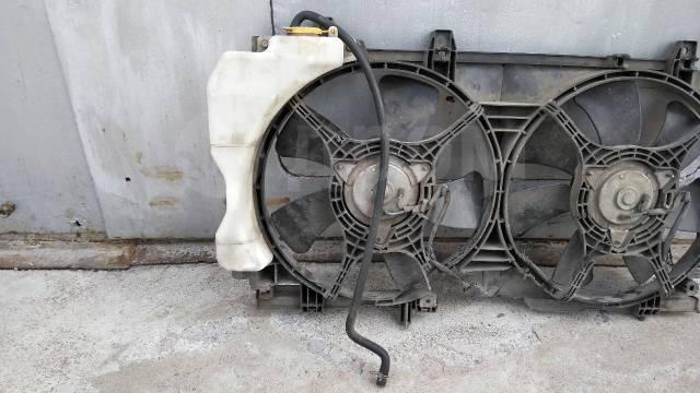 Вентилятор охлаждения радиатора. Subaru Forester, SG5