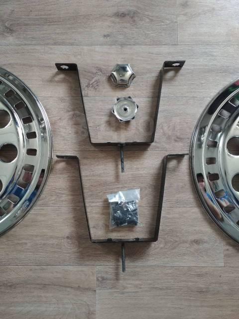 """Колпаки передних колёс R22,5 декоративные. Хром. Диаметр 22.5"""""""", 1шт"""
