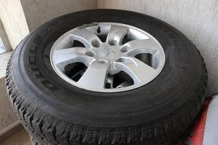 """Продам шины на литых дисках. 7.0x16"""" 6x139.70"""